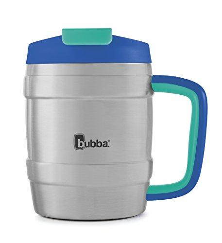 Bubba Keg Vacuum-Insulated Stainless Steel Travel Mug, 20 oz, Very Berry Blue
