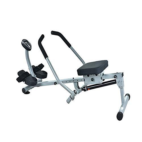 ZJZ Indoor Roeien Machines Home Rowing Machine, Indoor Rower Trainer Roeien Machine voor Thuis Gym, 12 Verstelbare…