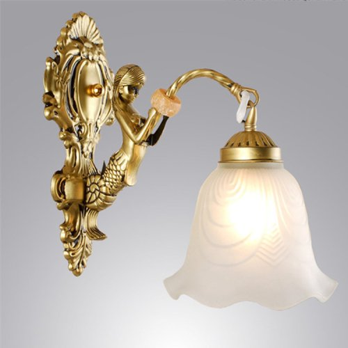 LightInTheBox Traditional/Classic Wall Lamps Sconces Metal Wall Lighting Fixture Europe Style Antique Brass Lighting Fixture E26 / E27