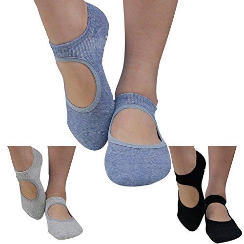 Socks Gmall Pilates Grips Cotton
