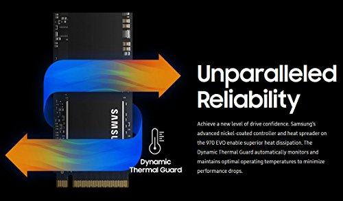 Samsung 970 EVO 500GB - NVMe PCIe M.2 2280 SSD (MZ-V7E500BW)