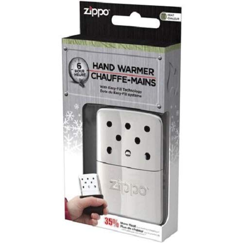 Zippo Hand Warmer, 6-Hour - Chrome