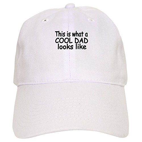 What To Buy Dad For Christmas - CafePress - This is what a COOL DAD looks like Baseball Cap - Baseball Cap with Adjustable Closure, Unique Printed Baseball Hat