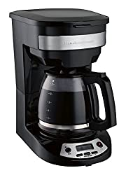 Hamilton Beach 46299 Programmable Coffee Maker, Black by Hamilton Beach