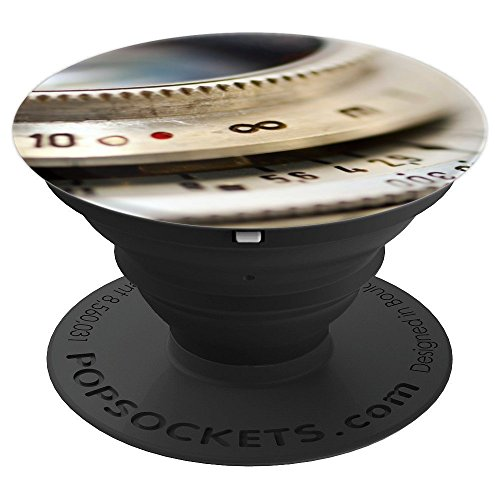 Shutter Pine - Vintage Camera Lens Shutter Design for Photographers - PopSockets Grip and Stand for Phones and Tablets