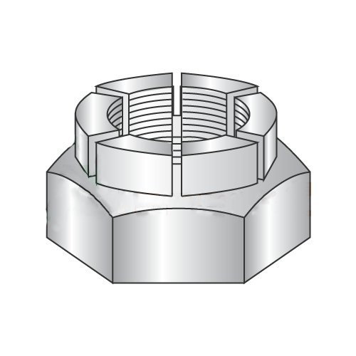 3/4-16 Thin Height Flex Locknuts/Steel/Cadmium (Carton: 50 pcs) -