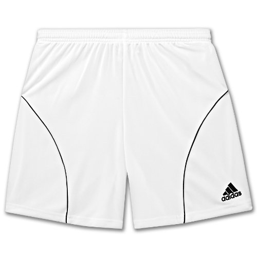 adidas Striker Soccer Short (White/Black) Youth (XS) by adidas