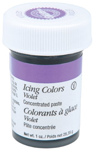 Wilton 610-604 Icing Gel, 1-Ounce, Violet
