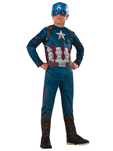 (Rubie's Costume Captain America: Civil War Value Captain America Costume,)