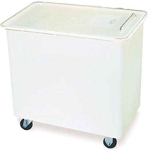 Carlisle BIN2702 Portable Ingredient / Food Storage Bin with Sliding Lid, 27 Gallon, White by Carlisle