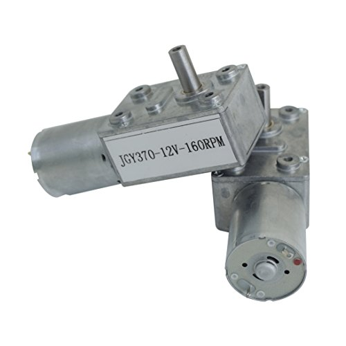 12V 160rpm High Torque Geared Motor DC Motor For DIY Scroll Curtain,Door Opener by Fisters