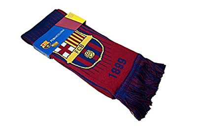 Icon Sports FC Barcelona Officially Licensed Product Soccer Scarf