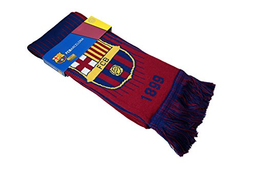 (FC Barcelona Authentic Official Licensed Product Soccer Scarf - 05-1)