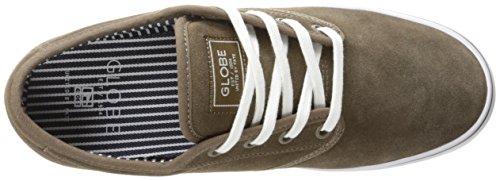 Global Eye Wear Motley - Zapatos de piel para hombre Walnut/White