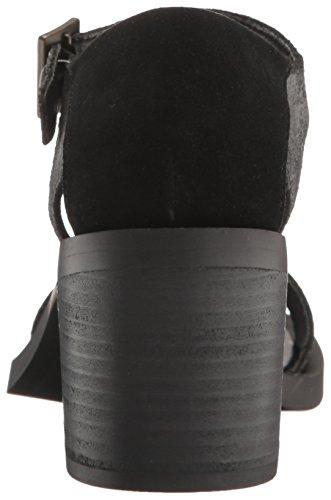 Sandal Linden Dagger Dress Black Women's Kelsi Brooklyn wafxZHqXP