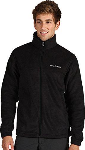 Columbia Men's Steens Mountain Full Zip 2.0 Fleece Jacket, Black, Medium