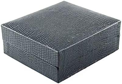 3cm Noir 1 8 JUNGEN Plastique Boite de Rangement Coffret Cadeau Bo/îte /à Boutons de Manchette Bo/îte /à Cravate Bo/îte demballage Boite Cadeau pour Homme 7