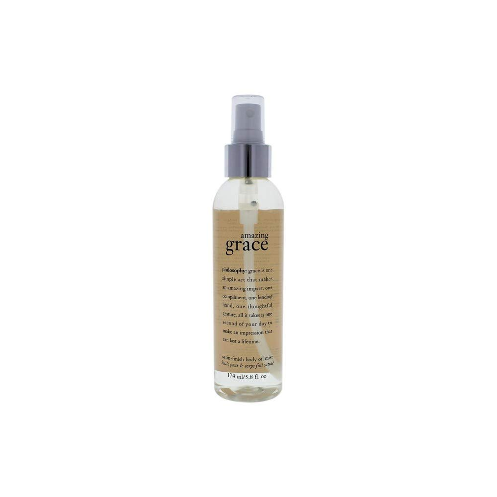 Philosophy Amazing Grace Satin-finish Body Oil Mist 5.0 oz Body Spray For Women