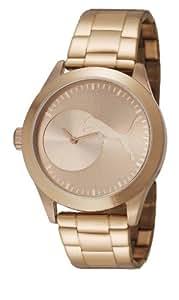 Puma  PU103582003 - Reloj de cuarzo unisex, con correa de acero inoxidable, color oro rosa
