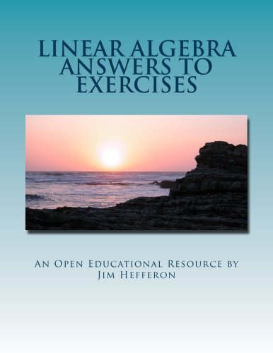 Linear Algebra Answers to Exercises