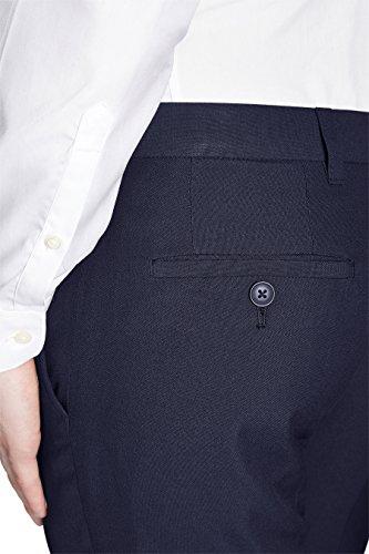 next Homme Pantalon sans pinces Bleu Marine 26 / Short - Slim Fit