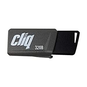 Patriot Cliq 32GB USB 3.1 Gen 1 Flash Drive, Thumb Drive, USB Storage (PSF32GCL3USB)