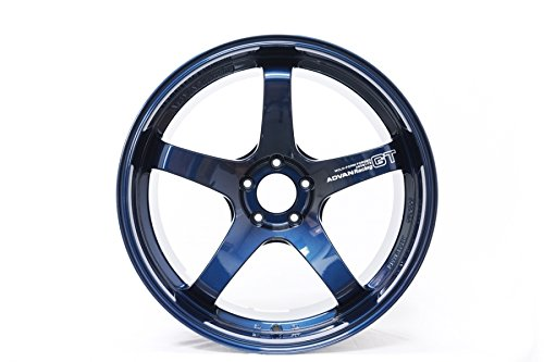 Pv Rim (Yokohama GT PREMIUM 20X12.0 +20 5-114.3 TITANIUM BLUE (PV) Wheel Rim)