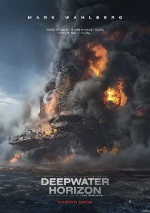 Deepwater Horizon - Mark Wahlberg - U.S Movie Wall Poster Print - 30cm x  43cm / 12 inches x 17 inches: Amazon.fr: Cuisine & Maison