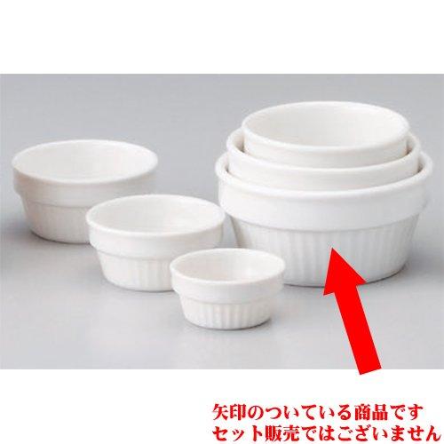 Souffle Plate utw680-17-144 [4.1 x 1.9 inch 8.1floz] Japanece ceramic NB4 inch Sufuru tableware by SETOMONOHONPO (Image #1)