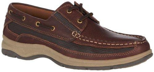 Reel Legends Mens Navigation Bateau Chaussures Marron