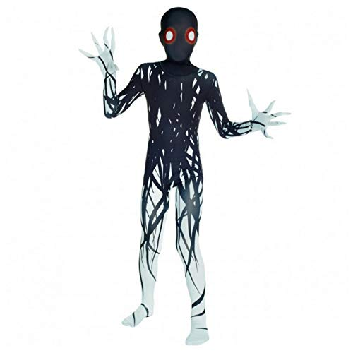 Halloween Pair Costumes Guys (Morphsuits Zalgo Kids Monster Urban Legend Costume - Large 4'-4'6 / 10-12 Years (120cm -)