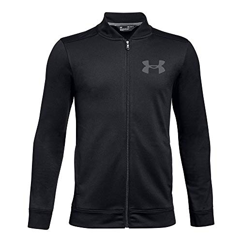- Under Armour Boys Pennant Jacket 2.0, Black (001)/Graphite, Youth Medium