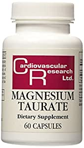 Cardiovascular Research Magnesium Taurate Capsules, 60 Count
