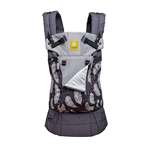 The COMPLETE All Seasons 360/° Ergonomic Baby /& Child Carrier by LILLEbaby SIX-Position Shibori Sky