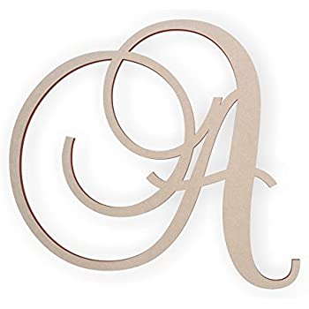 wooden letter a wooden monogram wall hanging large wooden letters cursive wood letter