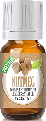 Nutmeg 100% Pure, Best Therapeutic Grade Essential Oil - 10ml