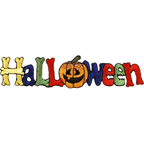 Expo International Halloween Iron-on Applique Trim Embellishment, Multi-Color -