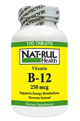 (Natrul Health Vitamin B-12 250 Mcg Tablets 100 Ea)