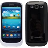 Halo Samsung Galaxy S III / S3 Extended Battery Case - Black/Silver by Lenmar