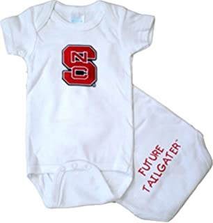 Football Baby//Toddler T-Shirt Future Tailgater North Carolina State Heads Up