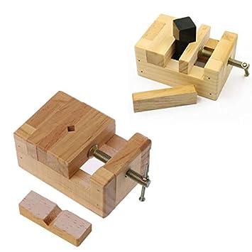 Chun Accessory Wood Flat Vise Mini Clamp On Bench Vise