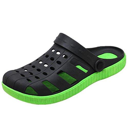 ZHONGST da Estive Black Uomo Pantofole qq4grU