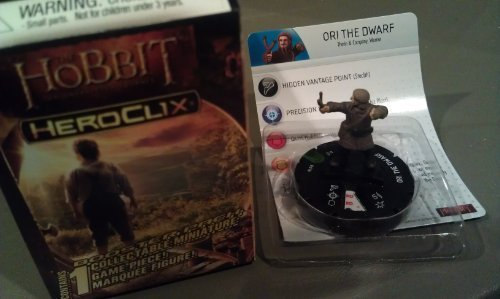 (The Hobbit Lord of the Rings Heroclix Ori the Dwarf by)