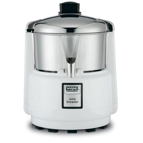 Acme 6001 Juicerator 550-Watt Juice Extractor, Quite White and Stainless