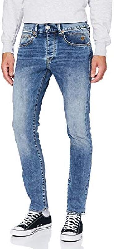 Wspaniałe dżinsy męskie Tyler Tapered Denim Stretch: Odzież