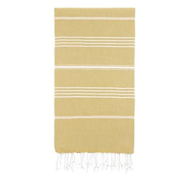 Cacala Pestemal Turkish Bath Towels 37x70 %100 Cotton Camel
