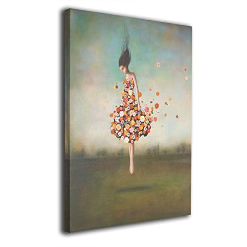 Baker Back Boundlessness in Bloom Painted Canvas Prints for Home Decorations Wall Art Decor Paintings Decorative Modern Seascape Abstract ()