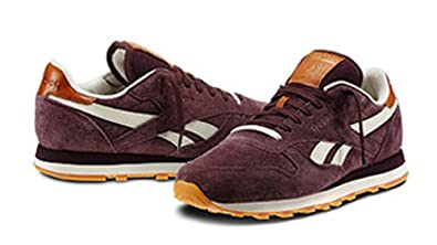 Image Unavailable. Image not available for. Colour  Reebok Classic Leather  Suede V48597 Burgundy 38.5 cdf50b51a