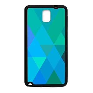 Blue Line Grid Fashion Personalized Phone Case For Samsung Galaxy Note3