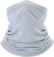 Summer Face Cover Breathable Sun Protection Neck Gaiter for Fishing Hiking Camping Outdoors Versatile Headwrap